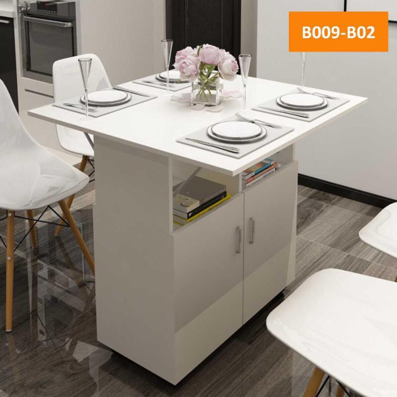 (Free delivery/assemble)Dinning table/Foldable table/Foldable Smart Dinning Table - Space Saver , filing cabinets, storage cabinet. coffee table