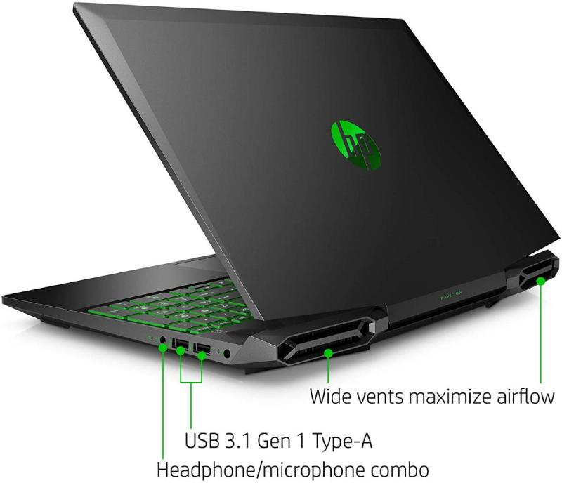 New model HP (for Gaming, Autocad )15-dk0051/68wm Pavilion 15.6 FHD i5-9300H quad-core 2.3GHz Nvidia GeForce GTX 1050 graphics 16GB RAM 480GB SSD  Win 10 Home Black In-build Webcam hp original, 1 year warranty(display set)