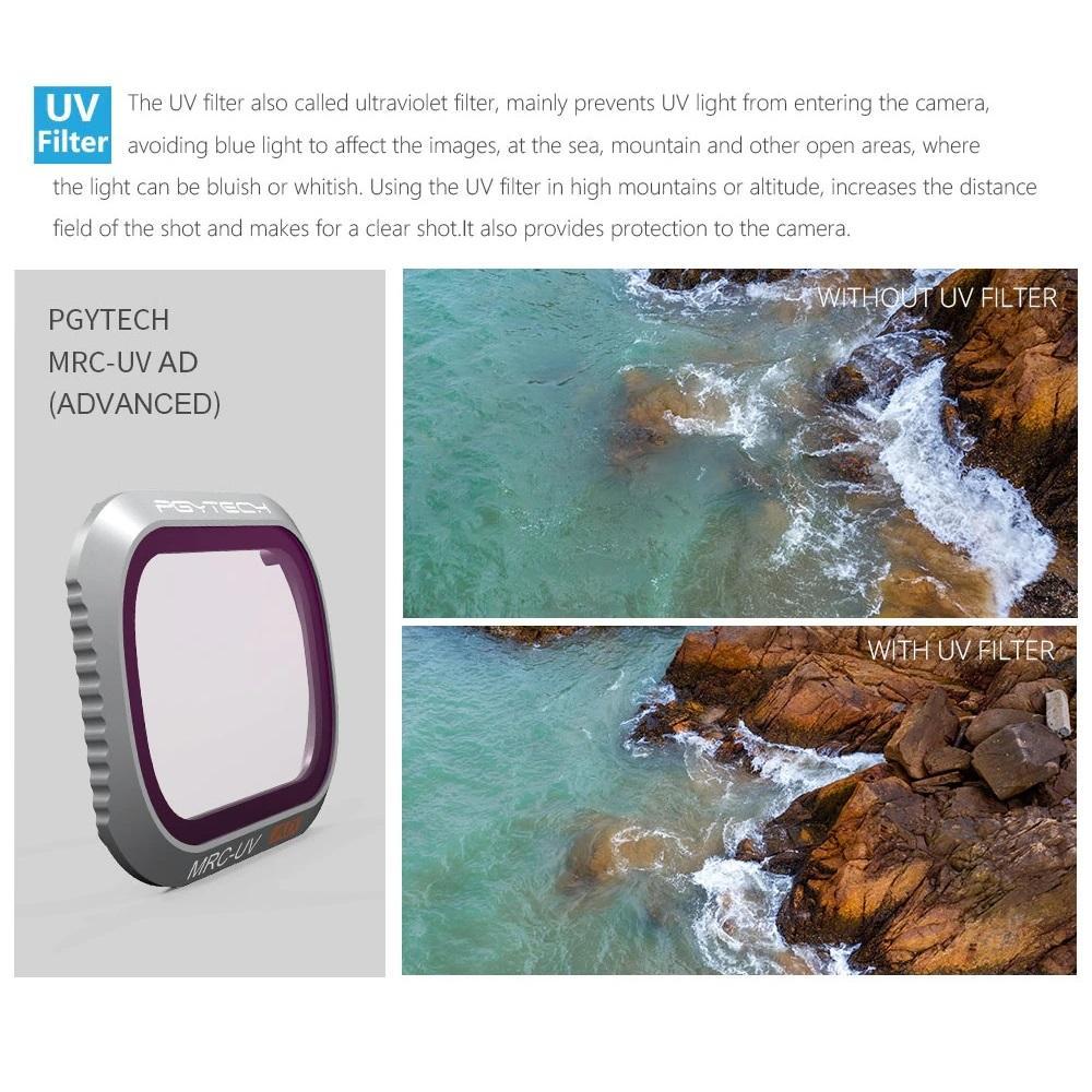 PGYTECH UV Filter MRC for DJI Mavic 2 Pro Drone