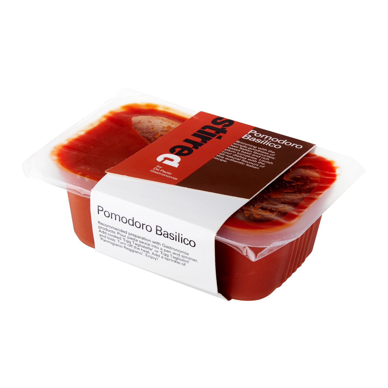 Da Paolo Pomodoro Basilico Pasta Sauce Fresh By Redmart.