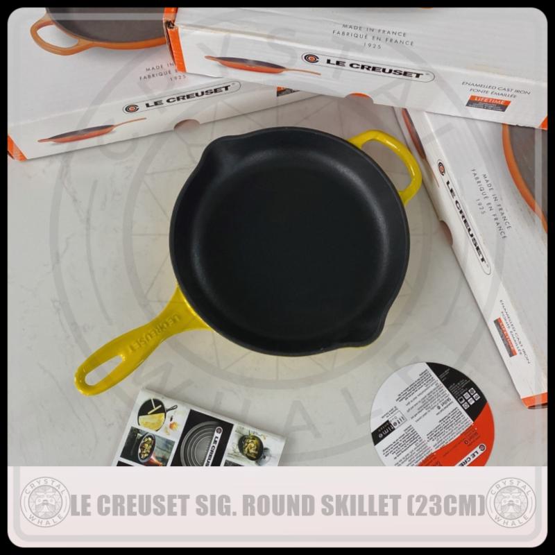Le Creuset Signature Cast Iron Round Skillet 23cm Singapore