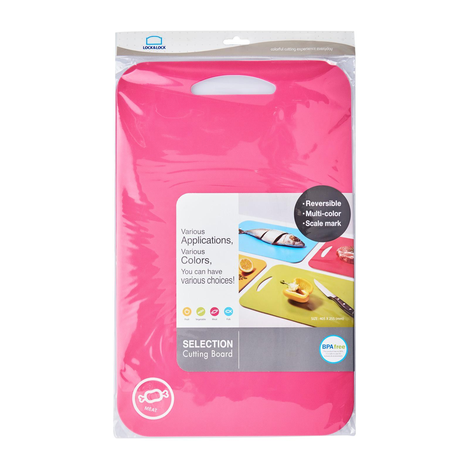 Lock and Lock Selection Cutting Board (L) - Pink