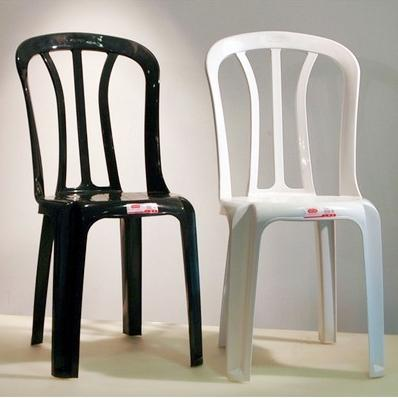 Keter Club Outdoor Plastic Chair Stackable