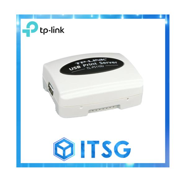 TP-LINK TL-PS110U Single USB 2.0 port fast ethernet Print Server - 3 Yr Local Warranty
