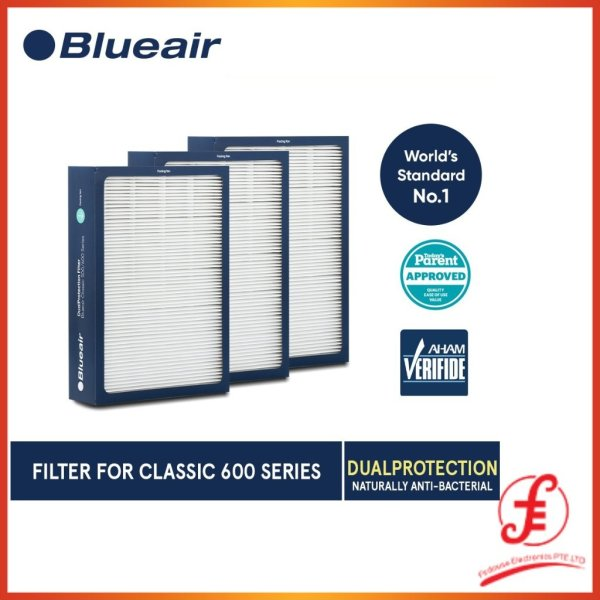 Blueair Classic 600 Series DualProtection Filter ORIGINAL GENUINE AUTHENTIC (600) Singapore