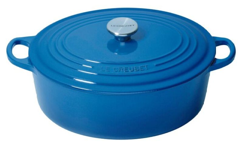 Le Creuset Cast Iron Oval French Oven 29cm, Classic (Marseille) Singapore