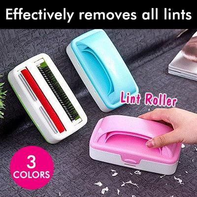Porters Lint Roller ⭐️ Smart Double Roller Design ⭐️ Effectively removes all lints