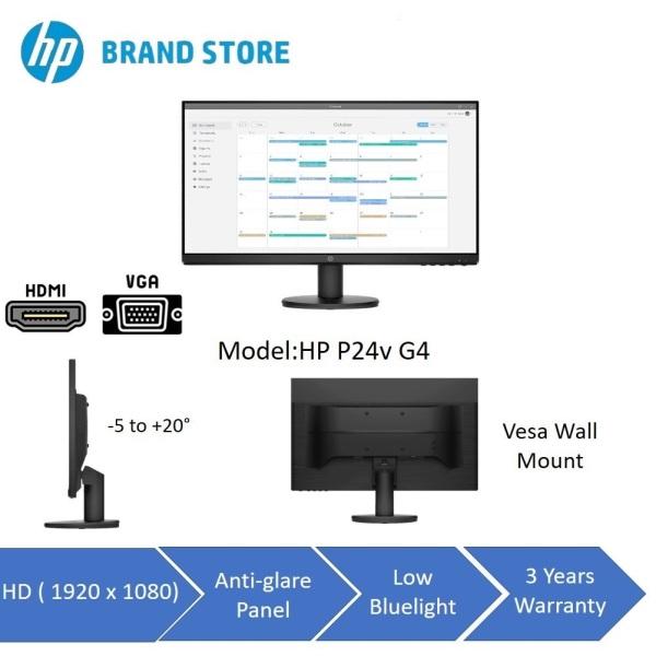 [BRAND NEW][3 YEAR WARRANTY] HP 24 FHD Monitor *FREE 1000Mbps USB 3.0 Gigabit Ethernet Adapter(U.P$25)*