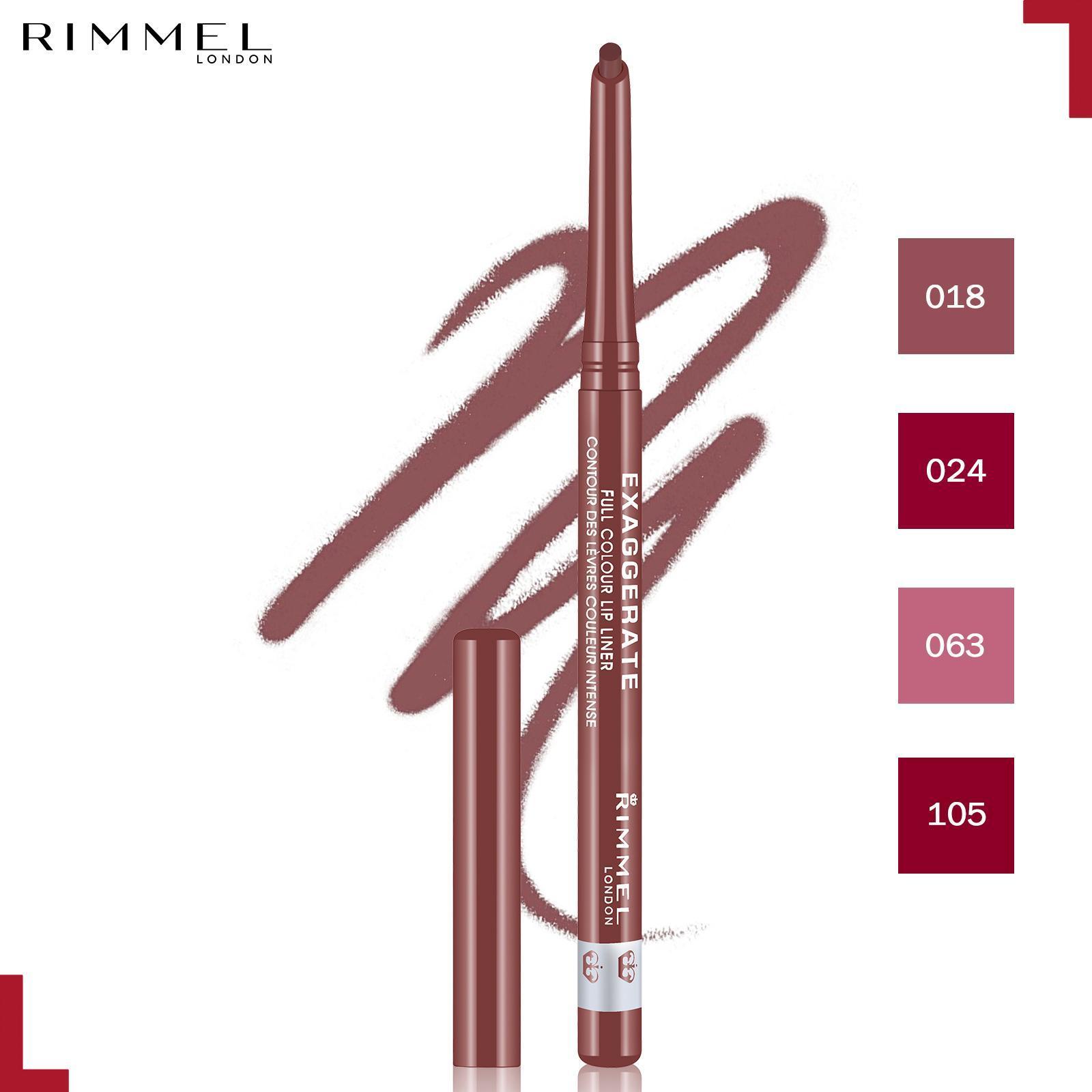 Rimmel Exaggerate Lip Liner 018- Addiction