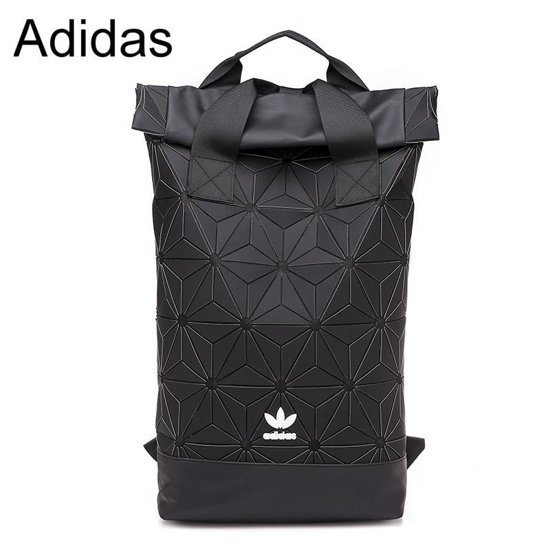 84b21417c8 Adidas 3D Roll Top Backpack Travel Sport Fashion Men Women Bag