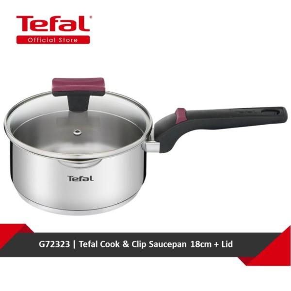 Tefal Cook & Clip Saucepan 18cm + Lid G72323 Singapore