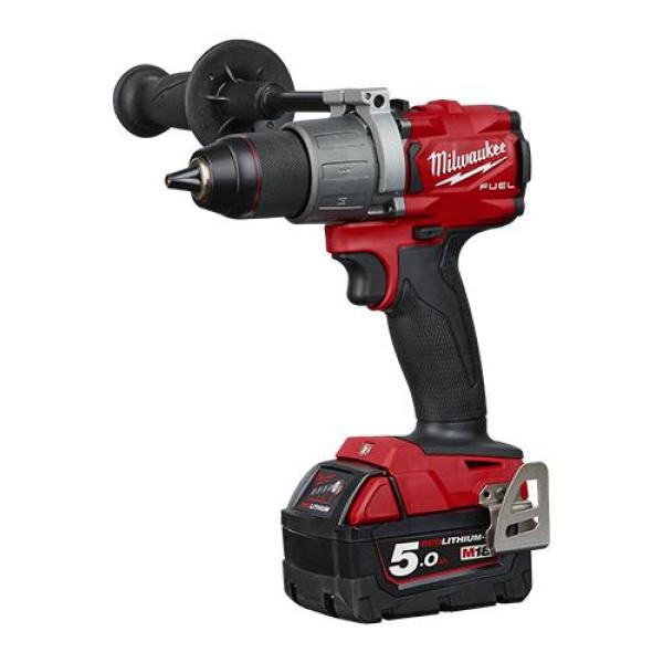 MILWAUKEE M18 FUEL BRUSHLESS GEN3 13mm Percussion Drill Driver Kit M18FPD2