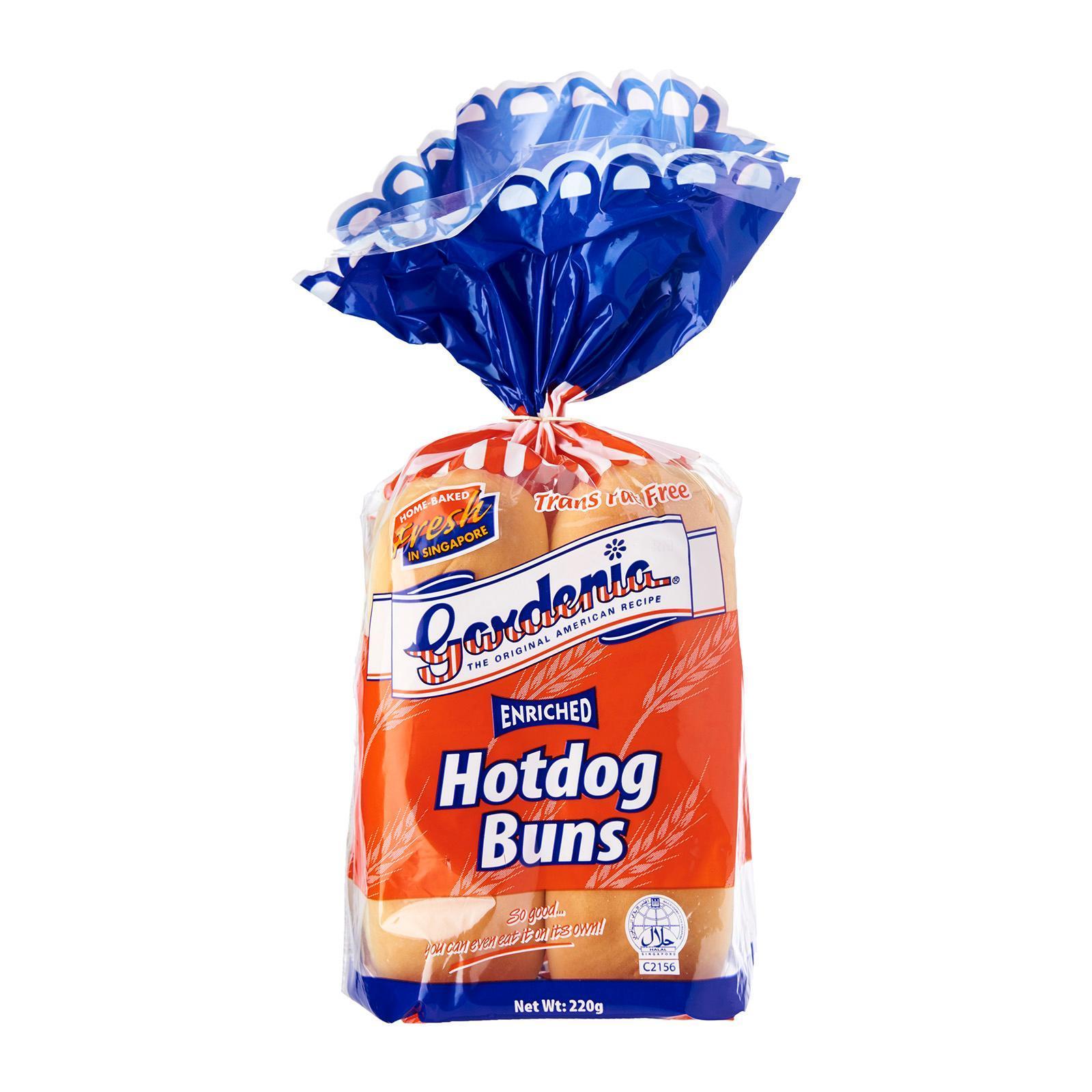 Gardenia Hotdog Buns 4s By Redmart.