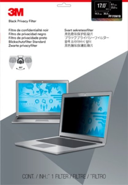 【PROMO】3M PF170W1B Privacy Filter for 17.0 Widescreen Laptop or Desktop LCD Monitor ( Filter Dimension 230.2mm x 367.6mm )