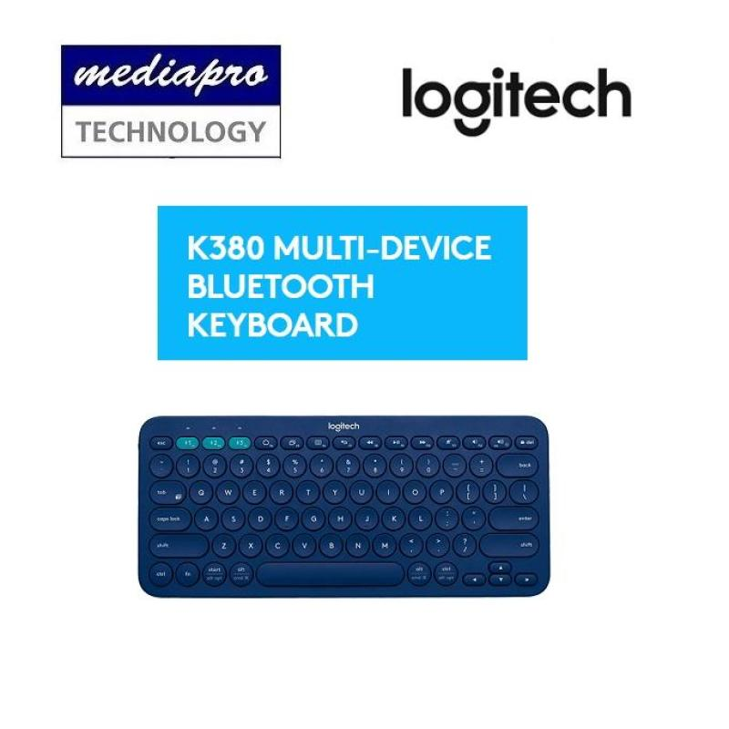 Logitech K380 Multi-Device Bluetooth Keyboard - 1-Year Limited Hardware Warranty by Logitech Singapore Singapore