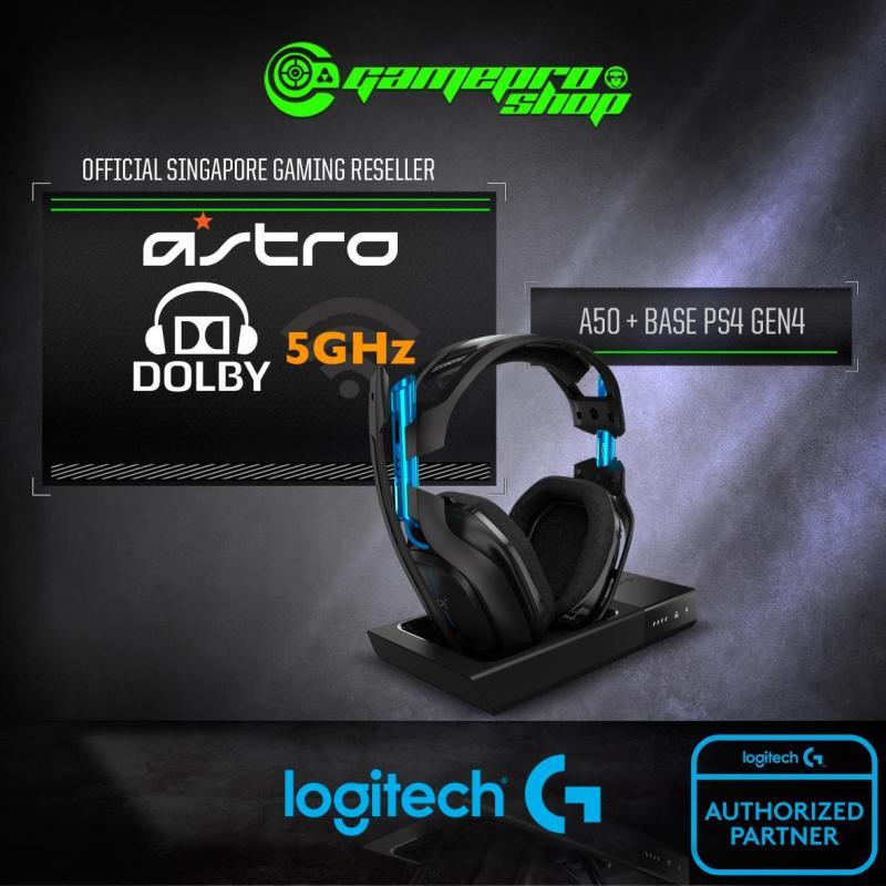 Logitech Astro A50 Wireless Headset + Base Station PS4 GEN4   *11.11 PROMO* Singapore