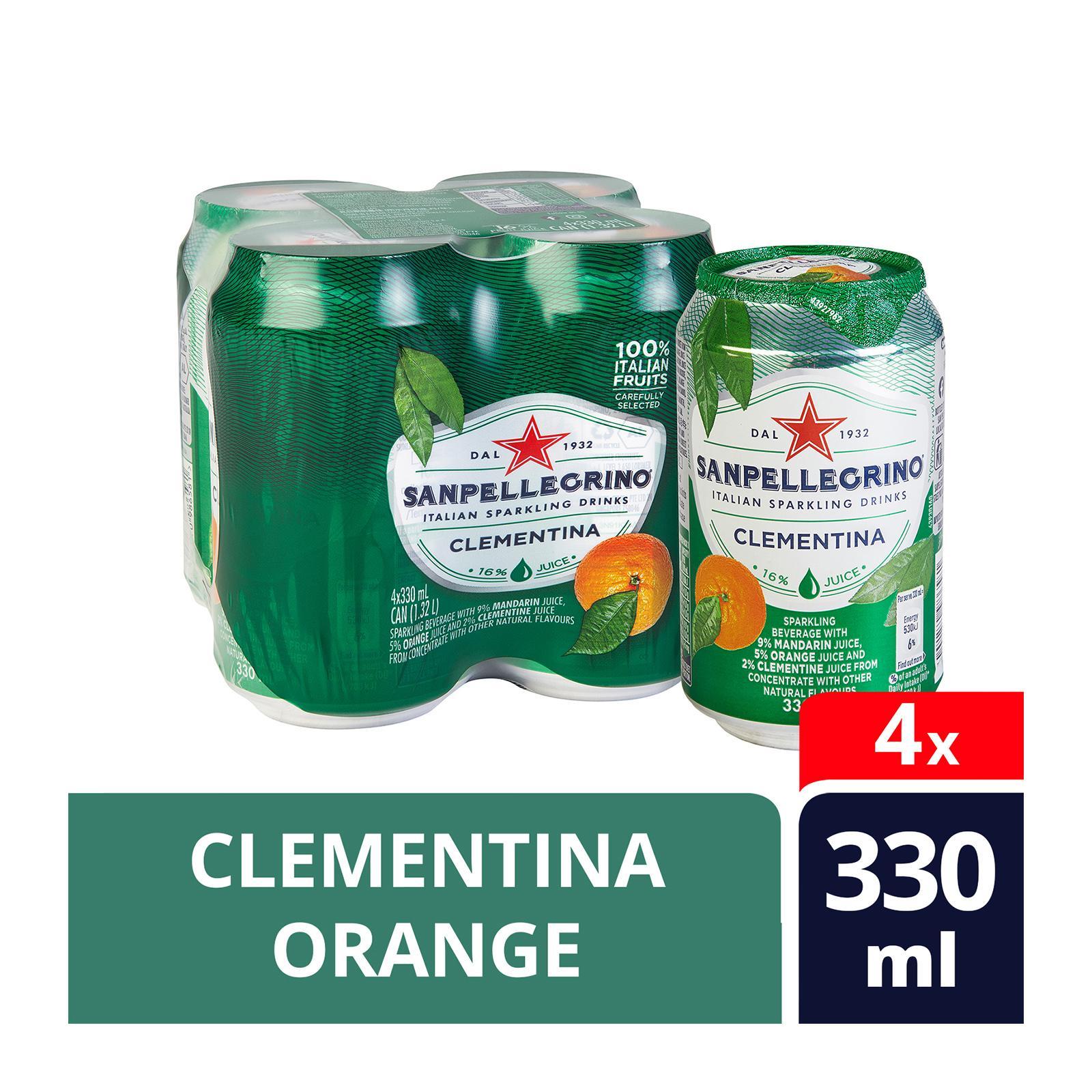 San Pellegrino Clementina Sparkling Beverage