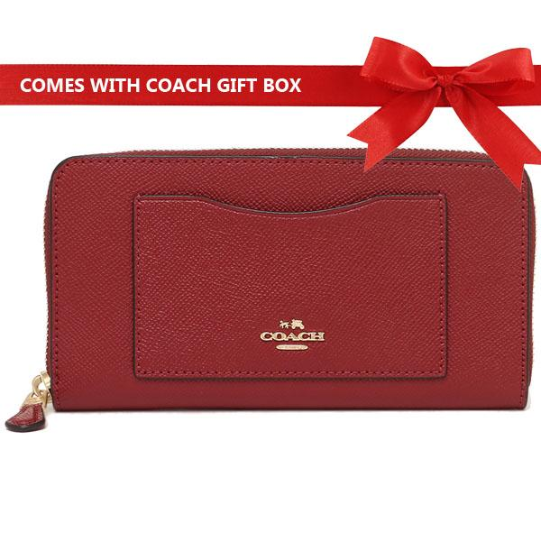 Coach Wallet In Gift Box 100% Authentic Accordion Zip Wallet Long  Continental Wallet F16612 F54007 9a37b2c7c4d7a