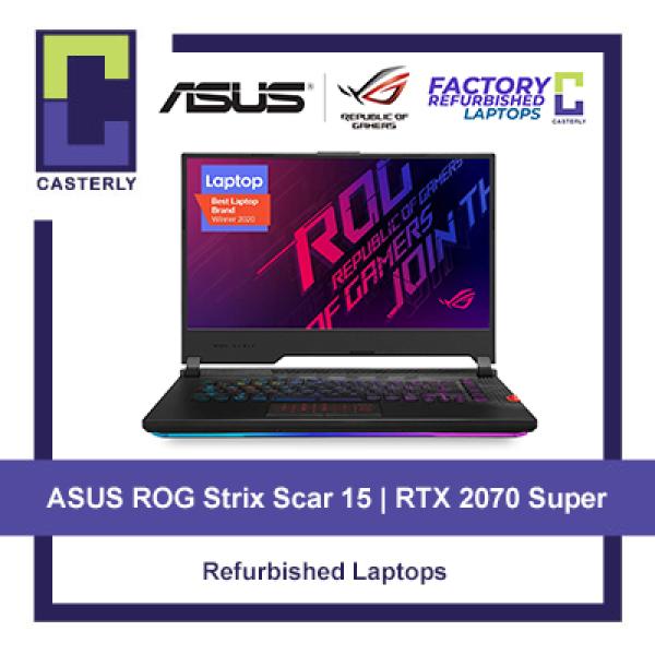 [Refurbished] ASUS ROG Strix SCAR 15 G532L / i7-10875H / 16GB Ram / 1TB SSD / RTX 2070 Super / 240hz Gaming Laptop Windows 10