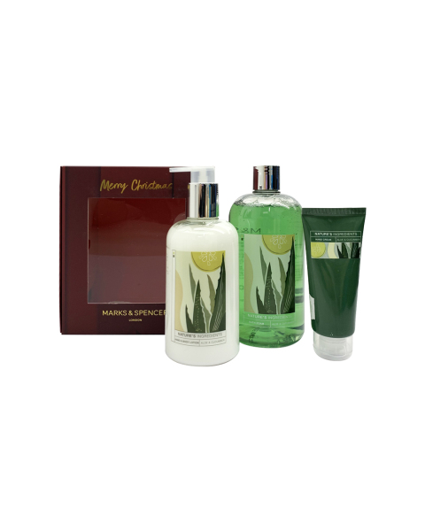 Buy M&S Aloe Cucumber Trio Body & Hand Set Singapore
