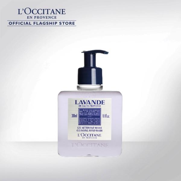 Buy LOCCITANE Lavender Cleansing Hand Wash 300ml Singapore