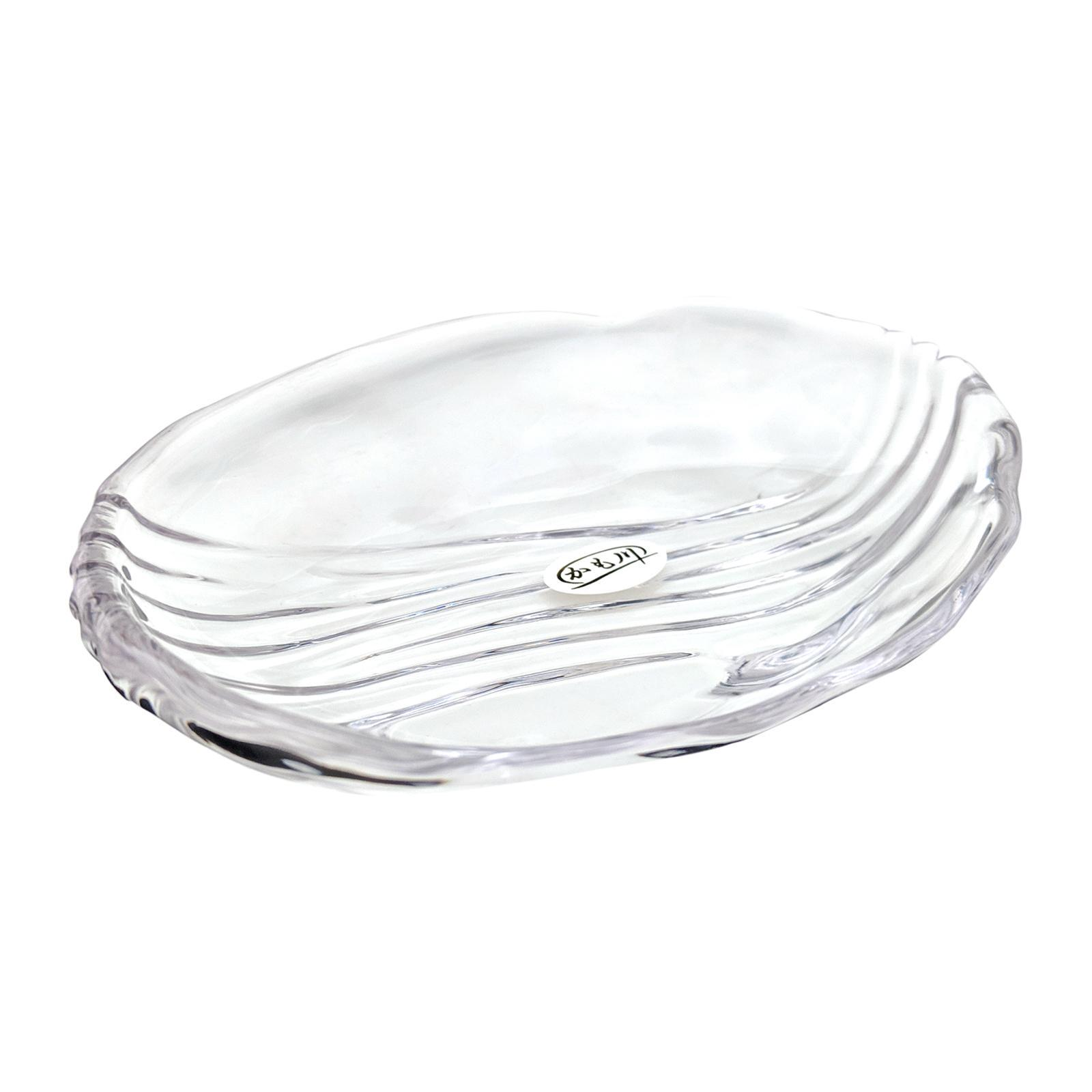 Soga KMGW Oval Glass Dish 14 CM 3-PCS Set