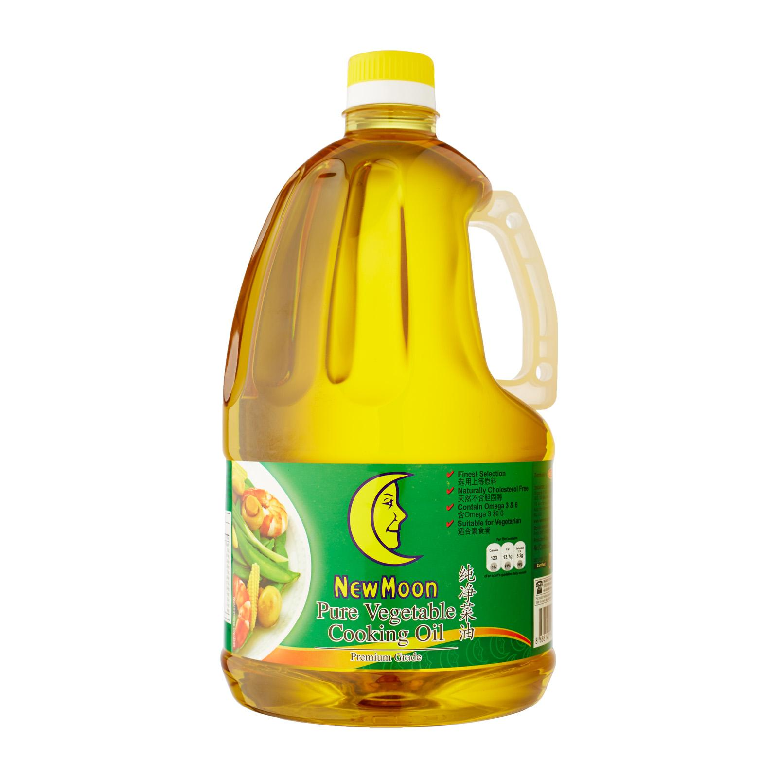 New Moon Premium Grade Pure Vegetable Oil - 2l (charges Includes Shipping Fee) By Best Buy Mini Mart.