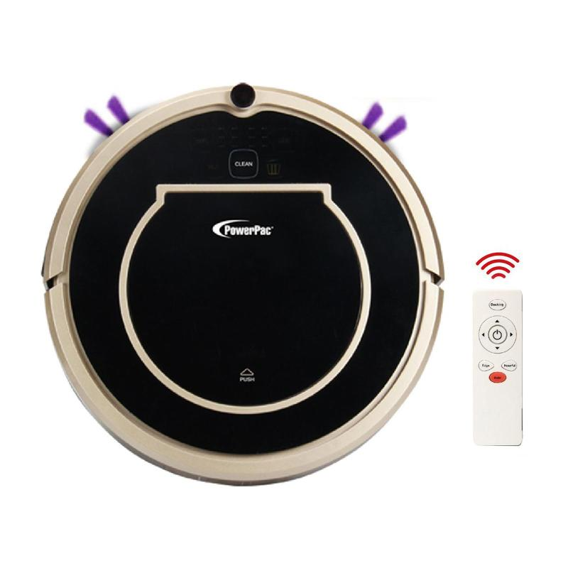 PowerPac Smart Robotic Vacuum Cleaner With Automatic Return And Wet And Dry Options (PPV3200) Singapore