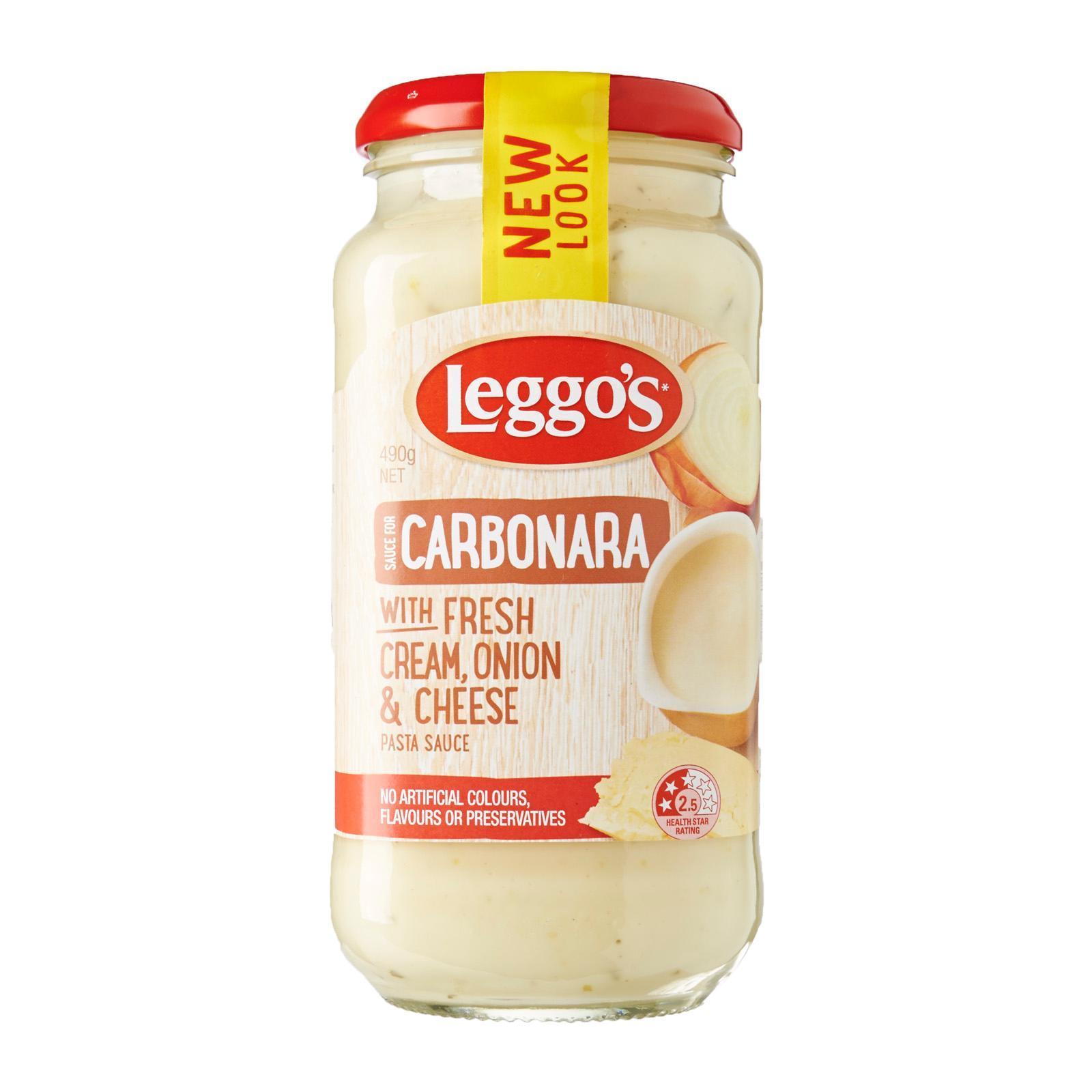Leggo's Carbonara Creamy Pasta Sauce
