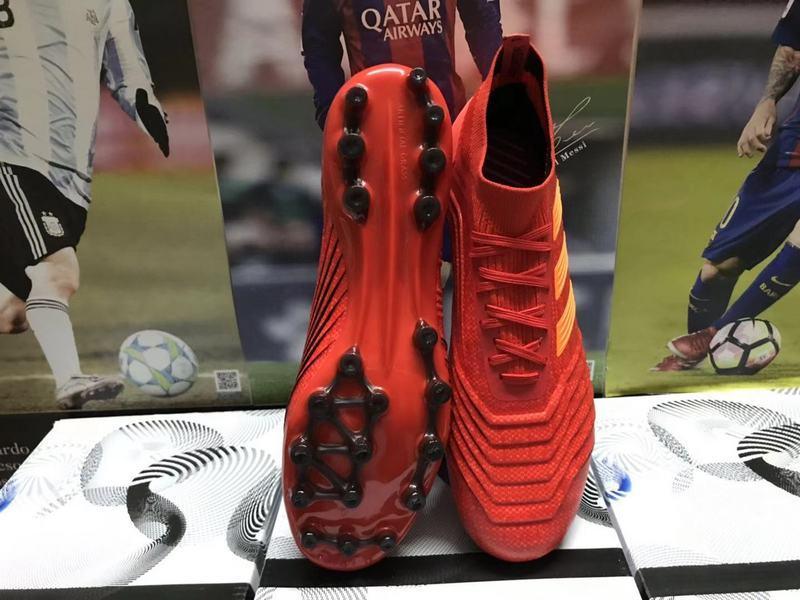 Penawaran terbaru Adidas 2019 Pendatang Baru Predator 191 Primeknit TAS Rumput Pria Sepatu Sepak Bola Tahan Air / Sepatu Sepak Bola / Game Pelatihan sepatu ukuran: 38-45