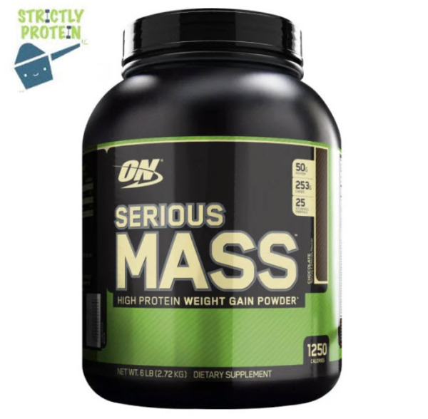 Buy 6lbs, Optimum Nutrition, Serious Mass, Whey Protein, Protein Powder, Mass Gainer, Chocolate Flavour Singapore