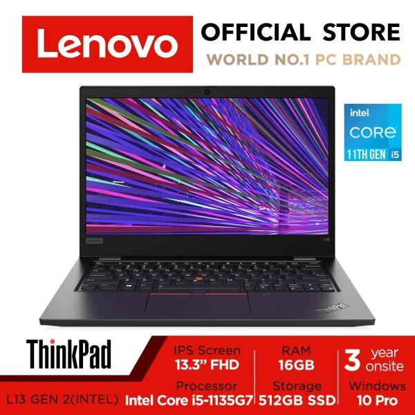 Lenovo ThinkPad L13 Gen 2 | 20VH001FSG | Iris Xe Graphics | 13.3inch FHD (1920x1080) | Intel Core i5-1135G7 | 16GB DDR4-3200 | 512GB SSD | 3Y Onsite Warranty