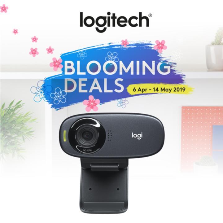 Logitech C310 720P Desktop Webcam for Video Call / Conferencing #LogitechBloomingDealsApr-May2019