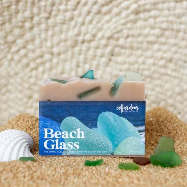 Buy Beach Glass Bar Soap by Cellar Door Bath Supply Co. Singapore