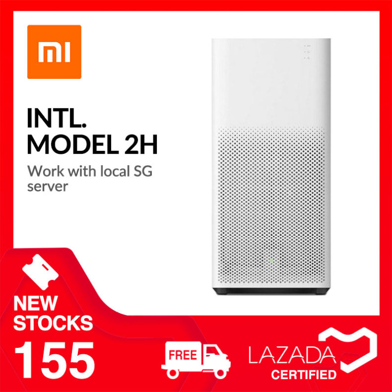 Xiaomi Smartmi Air Purifier 2H International Model Compatible with Google Home Amazon Alexa Tower Standing Fan Air Conditioner Cooler N95 Mask Singapore