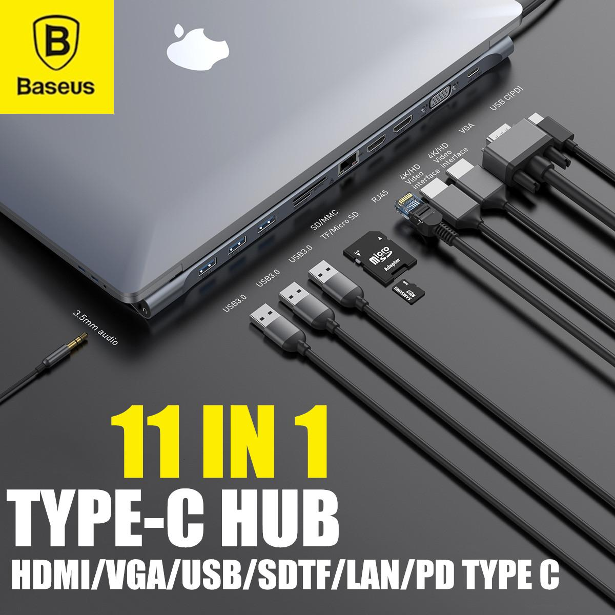 MeterMall Electronics for Mini USB 3.0 Type-C 3.0 HUB 4 Port Power Supply for MacBook Laptop Tablet Computer Type-C 3.0 4 Port