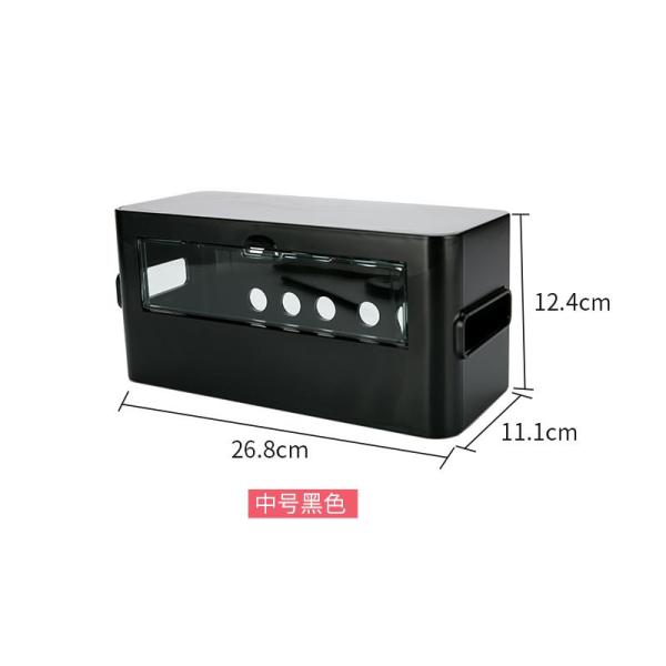 Japan Imported Inomata Cable Box Socket Storage Box Power Wire Storage Box Plug-in Board Cord Manager