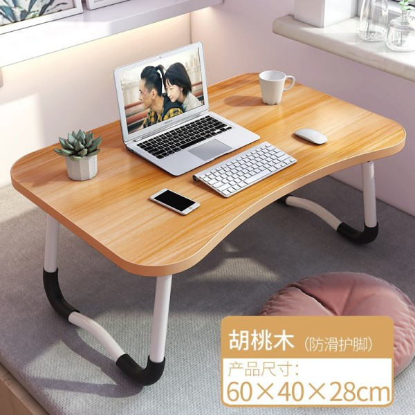 Portable Laptop Desk Foldable Table Notebook Study Laptop Stand Desk for Bed Sofa Computer Laptop Table W leg Foldable