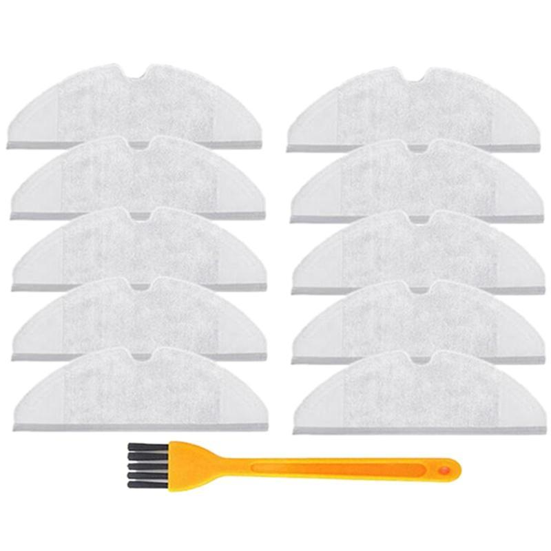 10Pcs/Lot Mop Cloths Pads Washable Cloth Mopping Pad For Xiaomi Generation 2 Roborock Vacuum Cleaner Spare Parts Singapore