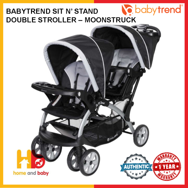 BabyTrend Sit N' Stand Double Stroller – Moonstruck Singapore