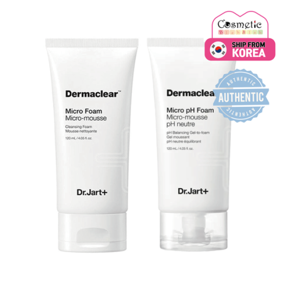 Buy [DR.JART+] Dermaclear Micro Foam 120ml / Micro pH Foam 120ml Singapore