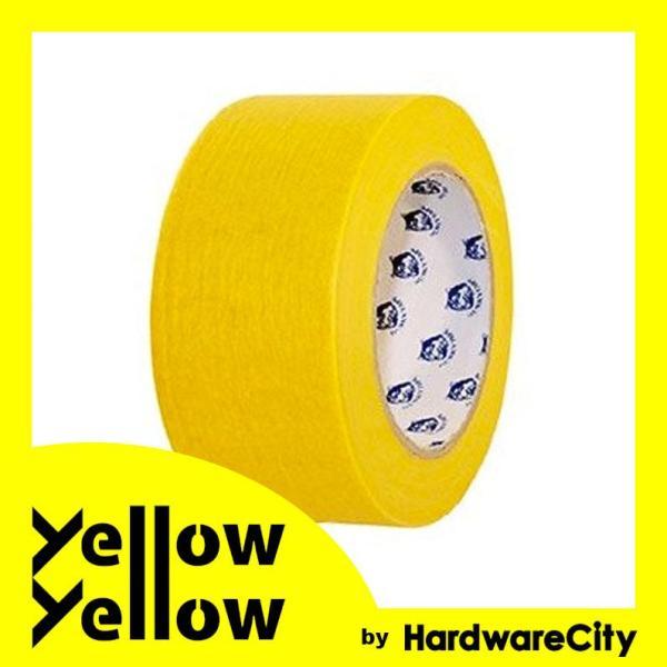 HardwareCity Superior Yellow Masking Tape / Painters Tape 2/50MM - 30 Yards PAINTERS TAPE