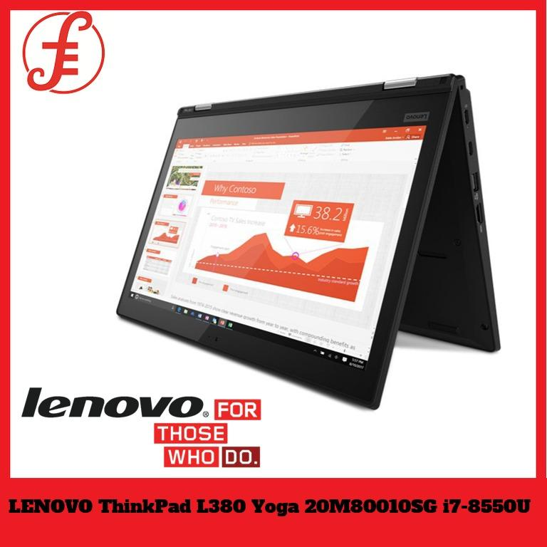 LENOVO ThinkPad L380 Yoga 20M80010SG 13.3 FHD IPS AG Mult-Touch i7 16GB 512GB SSD BUSINESS Laptop Windows 10 PRO | THINKPAD PRO PEN (L380)