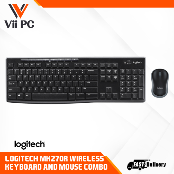 Logitech MK270R Wireless Combo Singapore