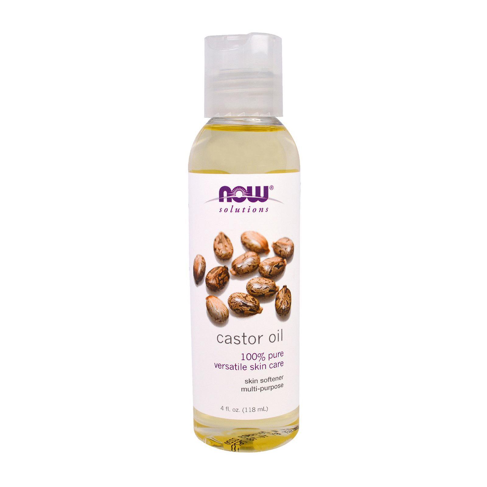 Now Foods Solutions Castor Oil 4 fl oz