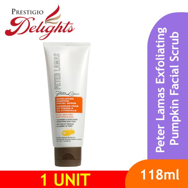 Buy Peter Lamas Exfoliating Pumpkin Facial Scrub 118ml Singapore