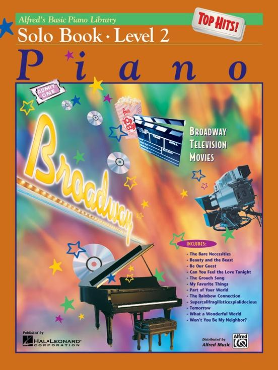Alfreds Basic Piano Library - Solo Book - Level 2 - Alfred Basic Piano Library Book - Piano Book - Music Book