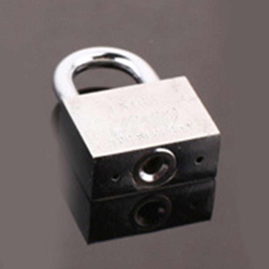 OSMAN Anti-rust Stainless Steel Padlock Multifunctional Anti-theft Lock with 3 Keys