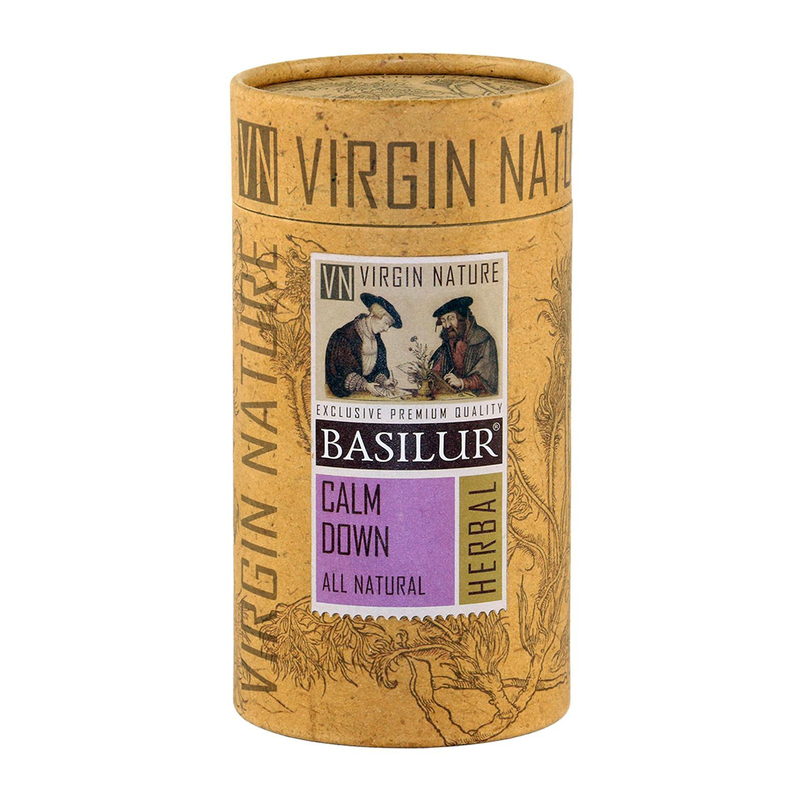 Basilur Caffeine-Free Virgin Nature Calm Down - Camomile Lavender And Jasmine Herbal Tea
