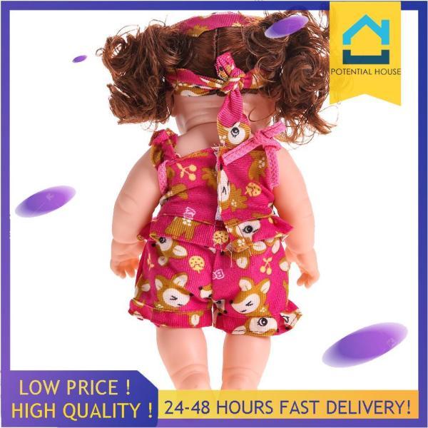 Reborn Baby Doll Soft Vinyl Silicone Lifelike Newborn Baby Speaking Toy